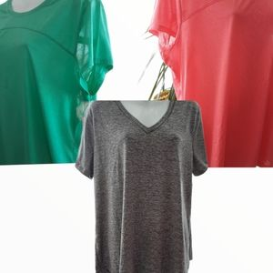 3 Athletic Works Tops
